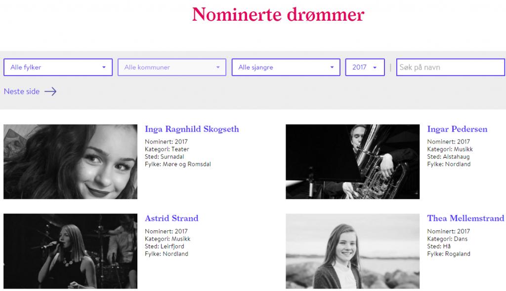 Nominasjonsfristen er nær – mange nominerte er allerede klare