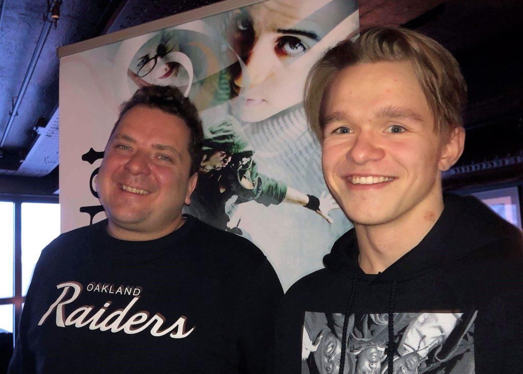 Emil Larsson fikk både møte og konsert med Joddski